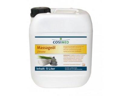 cosiMed masážny olej Citrón - 5000 ml