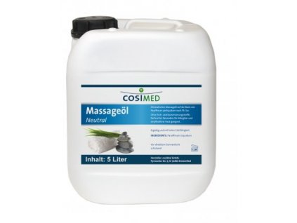 cosiMed masážny olej Neutral - 5000 ml