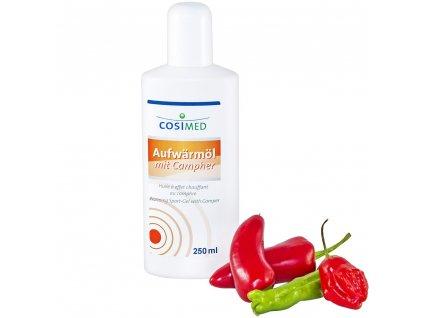 cosiMed športový prehrievací olej - 250 ml
