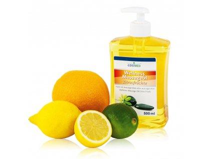 cosiMed wellness masážny olej Citrusy - 500 ml