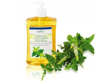 cosiMed wellness masážny olej Mäta - 500 ml