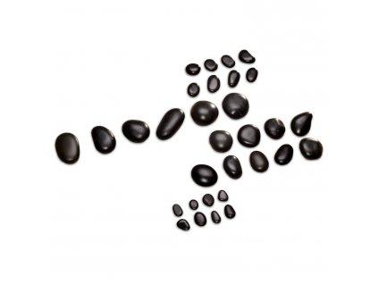 Hot Stones sada 31 lávových kameňov