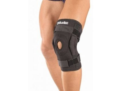 MUELLER Hinged Wraparound Knee Brace, ortéza na koleno