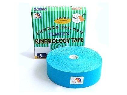 TEMTEX kinesio tape Classic XL, modrá tejpovacia páska 5cm x 32m - ekonomické balenie