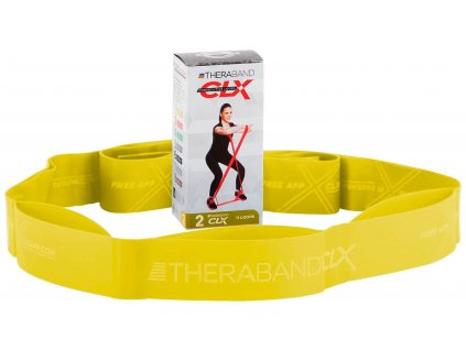 Thera band CLX posilňovacia guma žltá