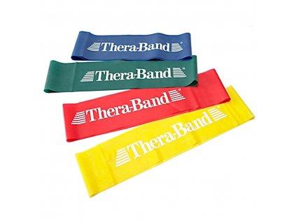 THERA-BAND Loop 7,6 x 30,5 cm, modrá, extra silná