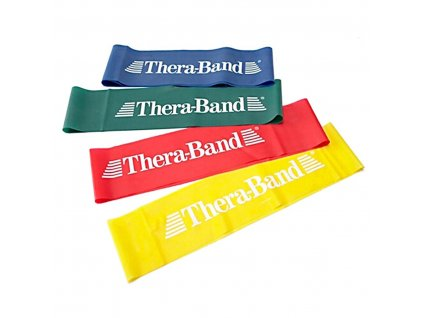 THERA-BAND Loop 7,6 x 30,5 cm, žltá, slabá
