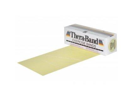 THERA-BAND posilňovacia guma 5,5 m, béžová, veľmi slabá