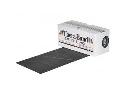 THERA-BAND posilňovacia guma 5,5 m, čierna, špeciálne silná