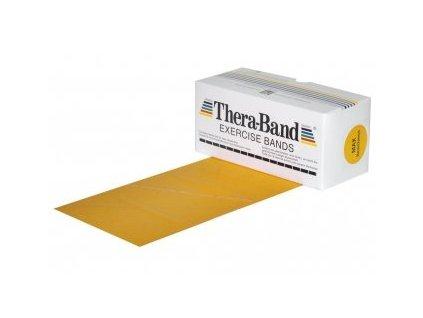 THERA-BAND posilňovacia guma 5,5 m, zlatá, max. silná