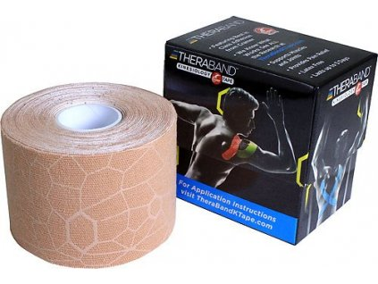 TheraBand™ Kinesiology Tape, béžová 5cm x 5m