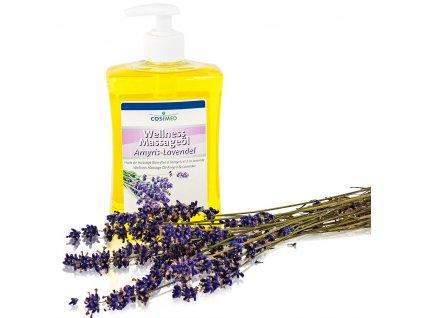 wellness masážny olej Amyris a Levanduľa - 500 ml