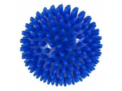 THERA BAND masážna loptička ježko, 10 cm, modrý