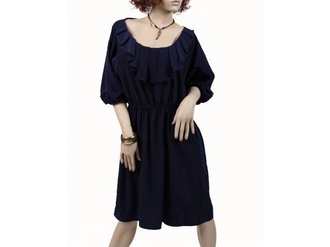 Trac dámské šaty tmavě modré