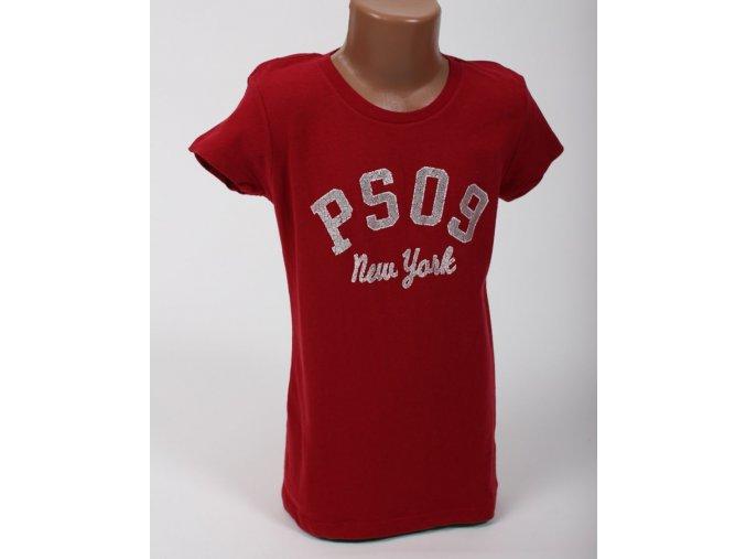 Aéropostale dětské tričko červené