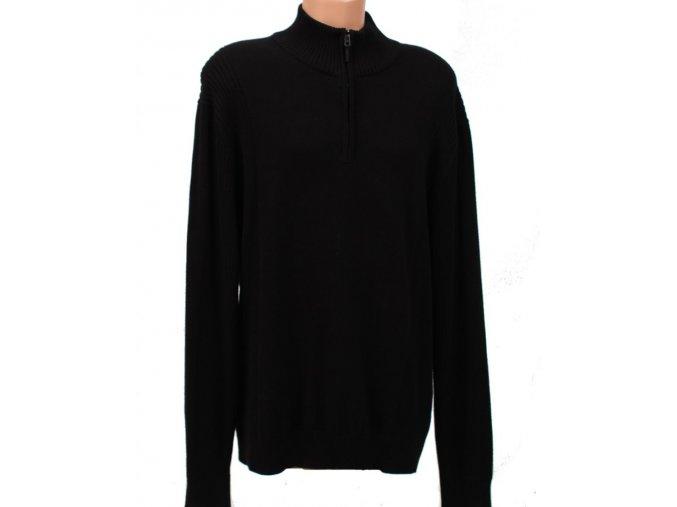 Calvin Klein pánský pletený svetr černý