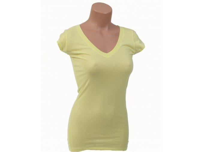 Aéropostale dámské tričko žluté