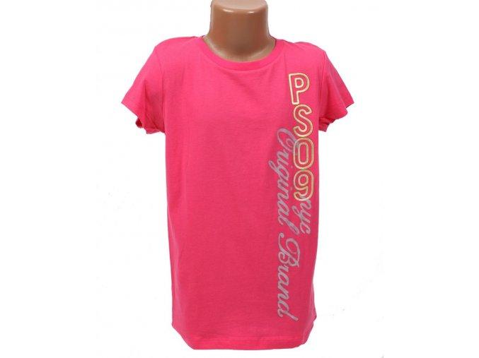 Aéropostale dětské tričko sytě růžové