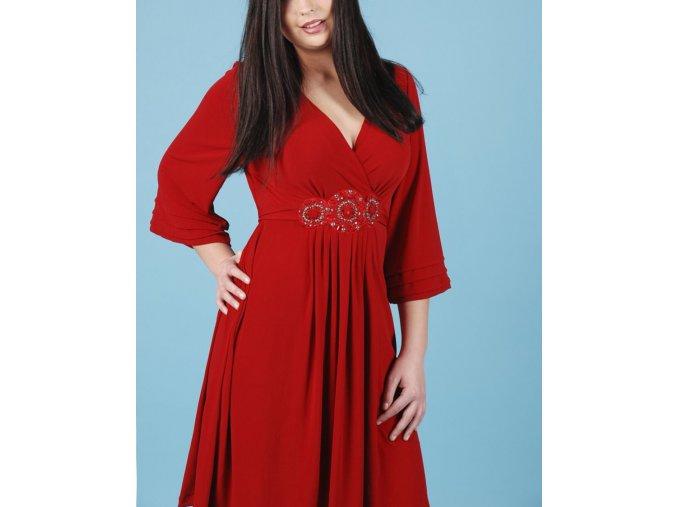 ICE dámské šaty červené