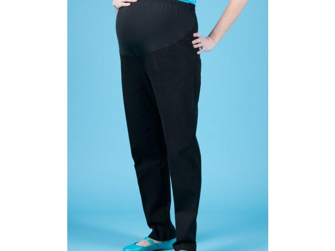 GAP MATERNITY těhotenské kalhoty strečové černé