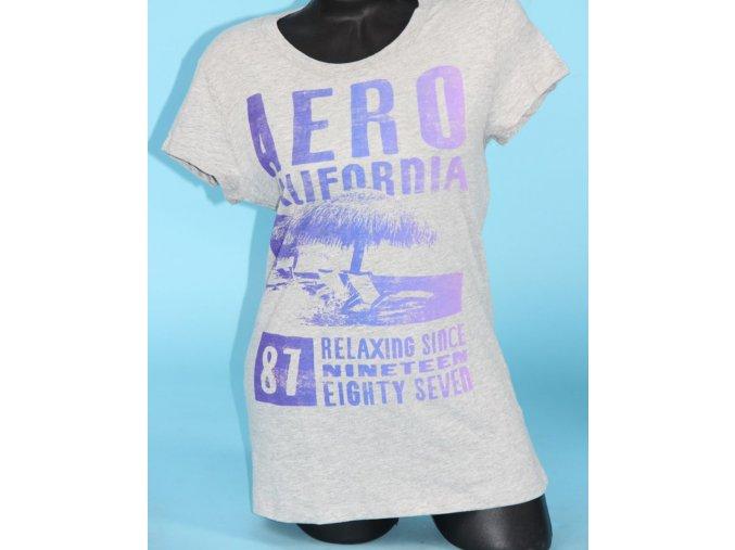 Aéropostale dámské tričko šedé