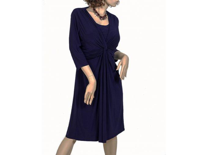 JONES WEAR DRESS dámské šaty tmavě modré