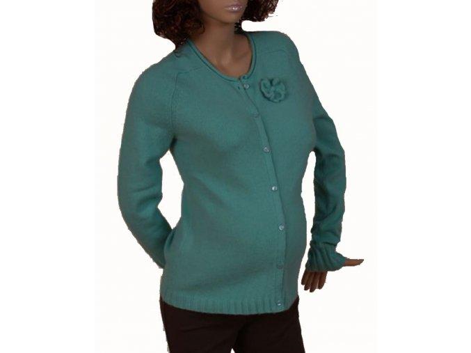 GAP MATERNITY těhotenský svetr zelený