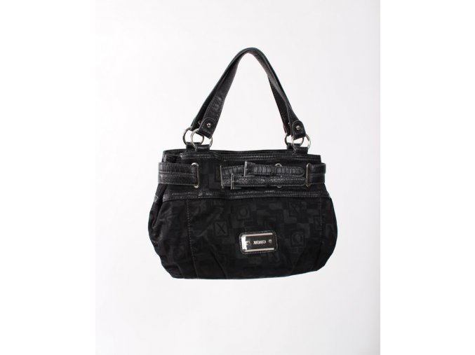 XOXO dámská kabelka černá s nápisy XOXO