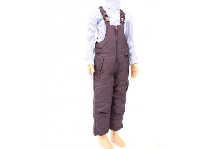 ARCTIC QUEST dětské/chlapecké kalhoty zateplené tmavě modré