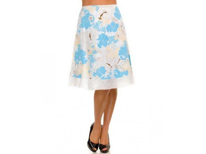 VIVA YOU U.S.A. dámská modrobílá sukně