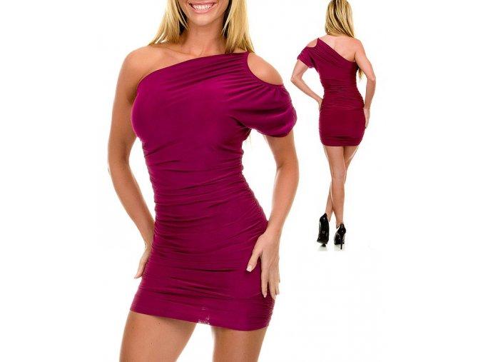 JFANY D USA dámské šaty fialové