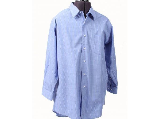 DOCKERS pánská košile modrá kostkovaná