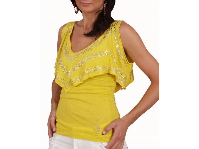 Baby Phat dámská halenka žlutá