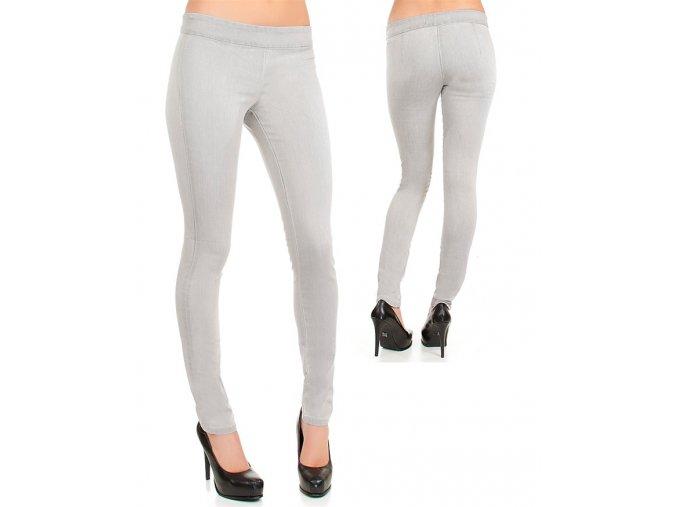 life in progress dámské kalhoty/legíny světle šedé
