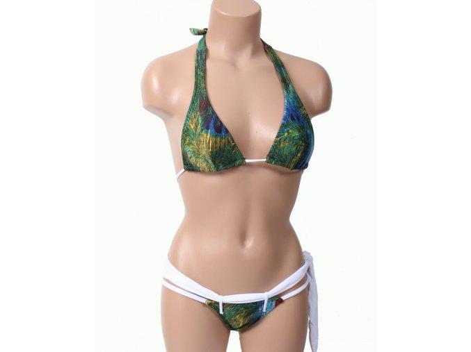 Blue body Brazil dámské brazilské plavky zelené