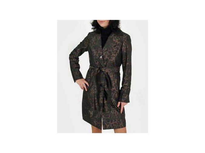 ELLEN TRACY dámský lehký kabát bronz leopard