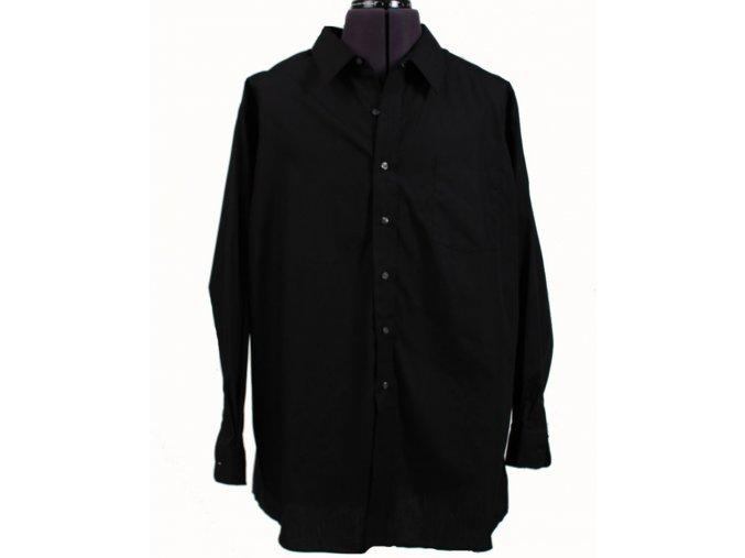 Puritan pánská košile černá