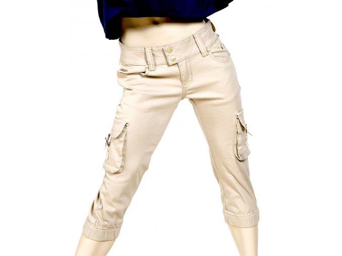 Apple Bottoms dámské capri kalhoty béžové
