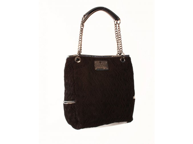 bebe dámská kabelka černá s pleteninou