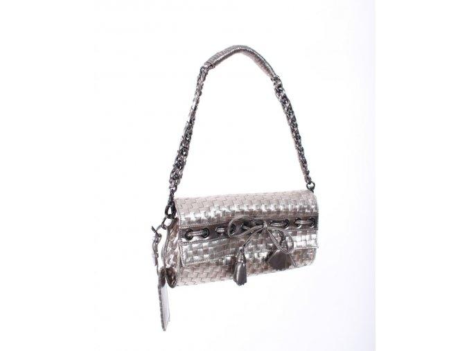 bebe dámská kabelka/psaníčko stříbrná