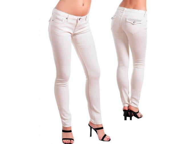 CHIALI DENIM ARCHITECT dámské džíny (rifle) bílé