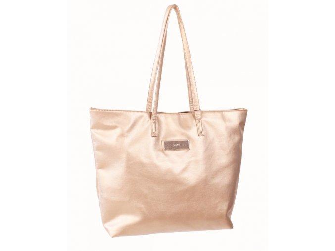 Calvin Klein dámská kabelka zlatá