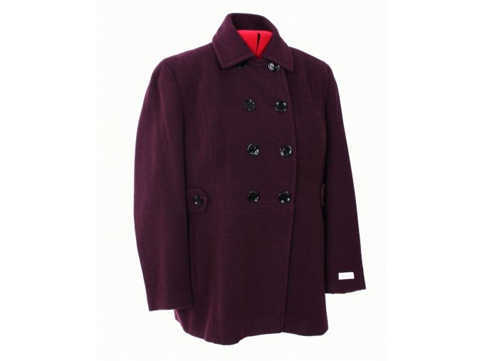 Calvin Klein dámský kabát fialový