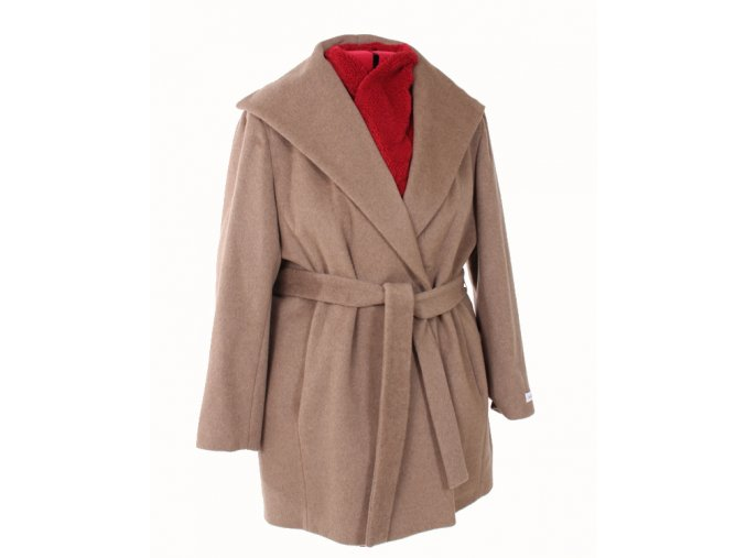 Calvin Klein dámský kabát světle hnědý
