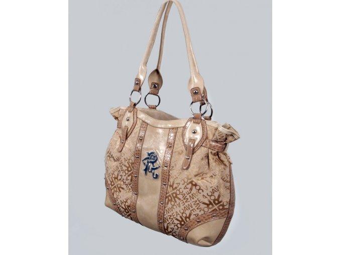 ROCAWEAR dámská kabelka béžová