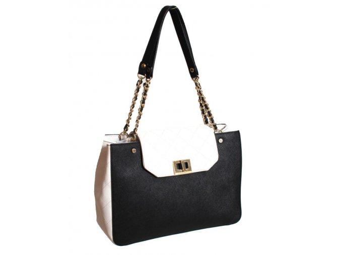 Calvin Klein dámská kabelka černobílá