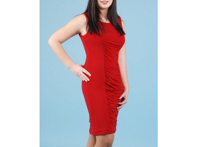 Calvin Klein dámské společenské červené šaty