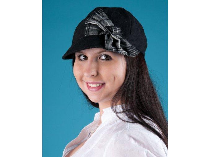collectioneighteen dámská čepice s kšiltem černá
