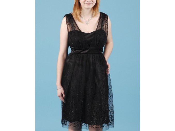 S. L. FASHIONS dámské plesové šaty černé