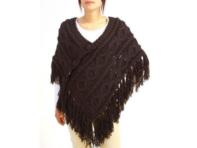 Yag couture dámský pléd tmavě šedý